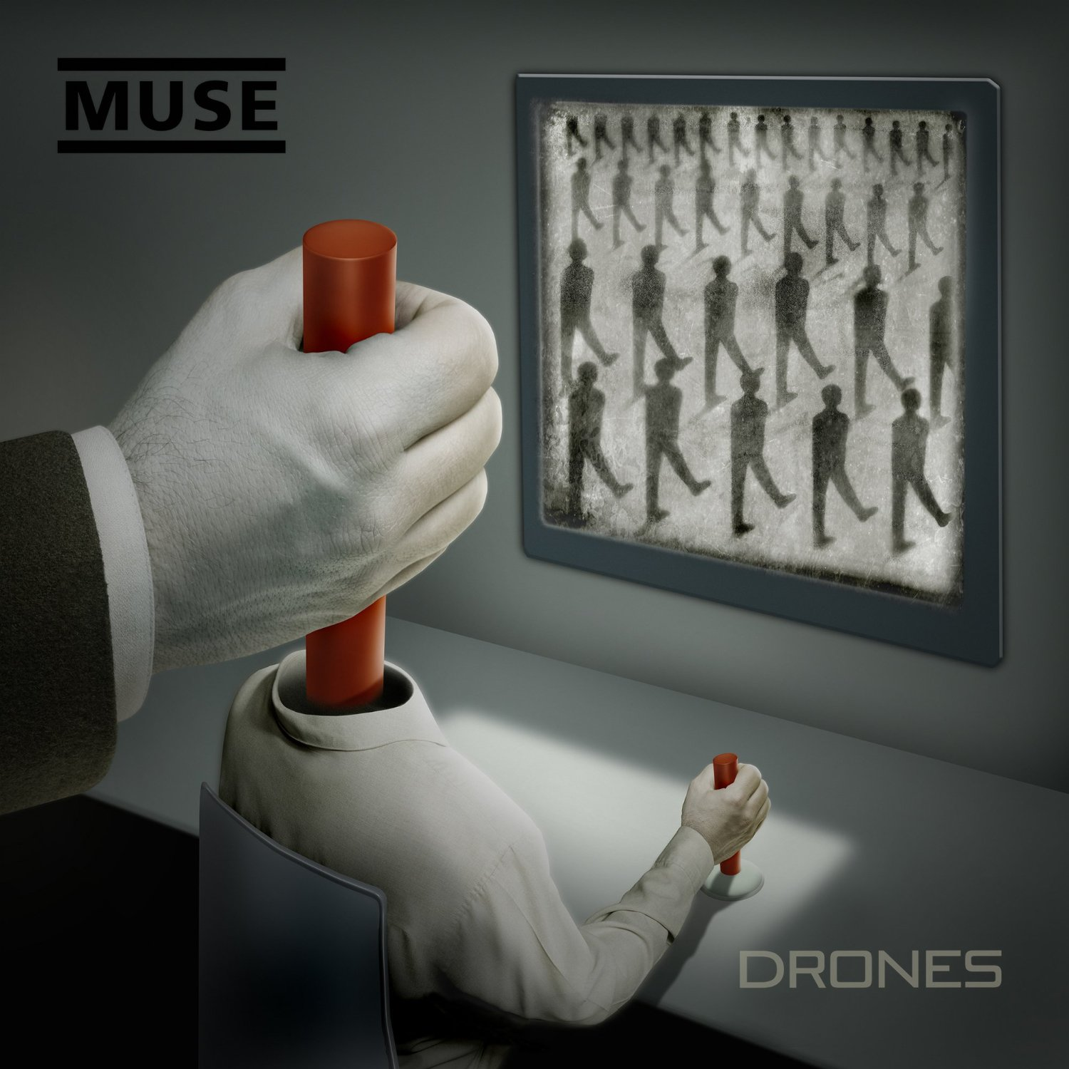 Muse: Drones (2015) Book Cover