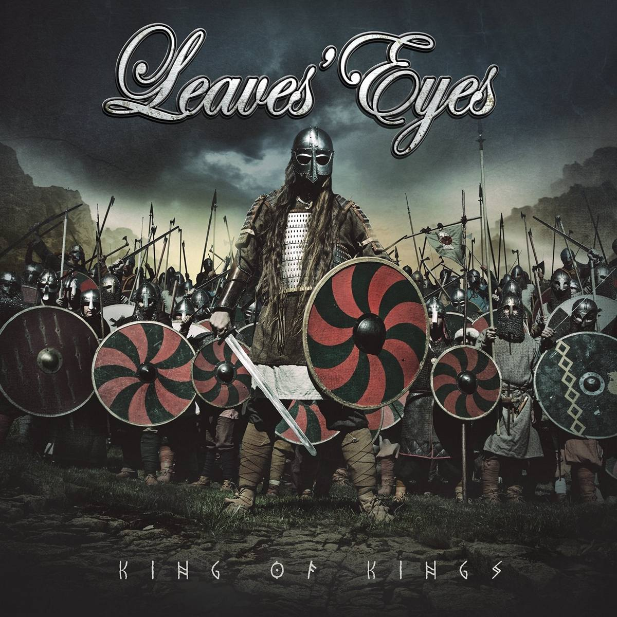 Leaves`Eyes: King Of Kings (2015) Book Cover