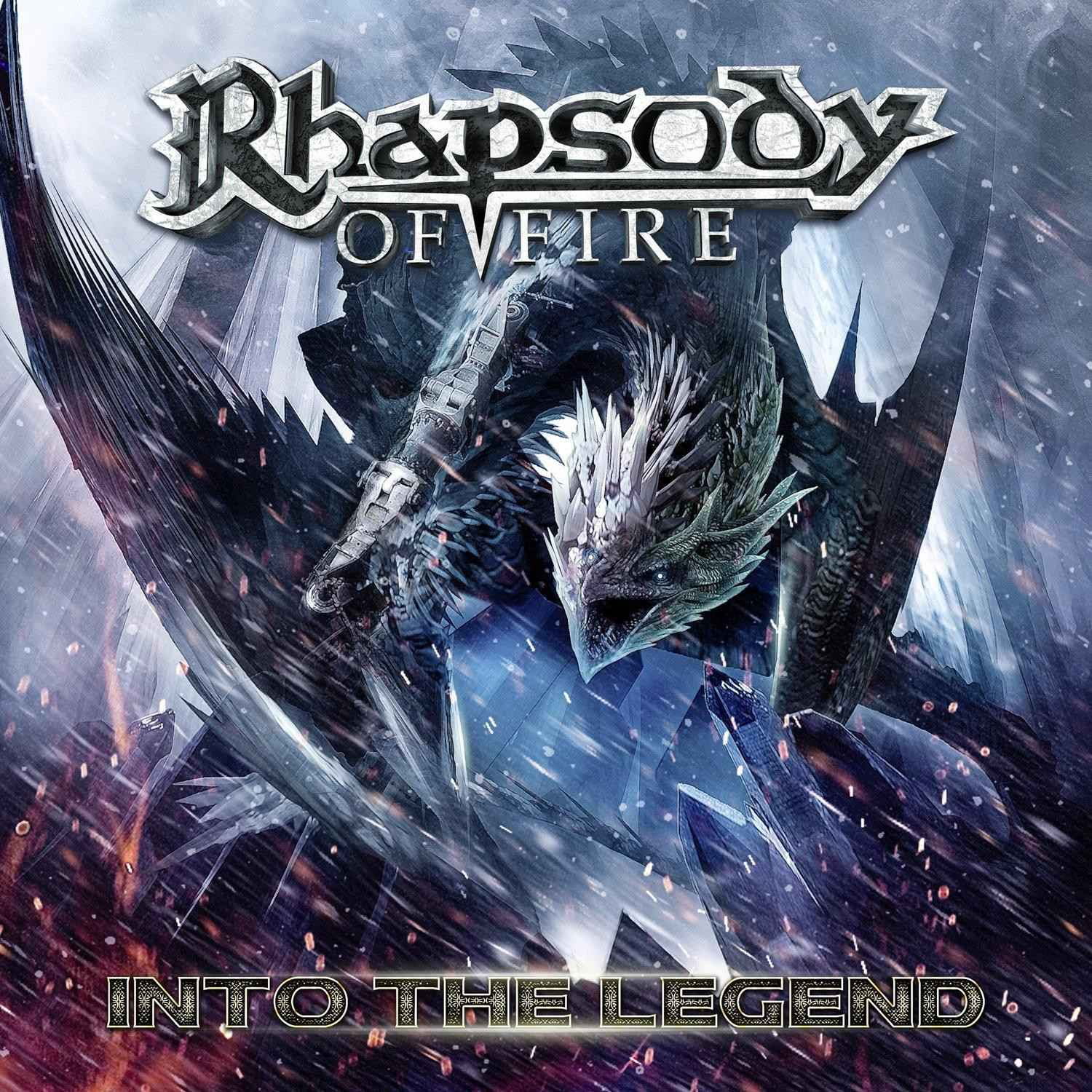 Rhapsody of Fire: Into The Legend (2016) Book Cover