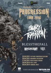 Progession Tour 2016 Flyer