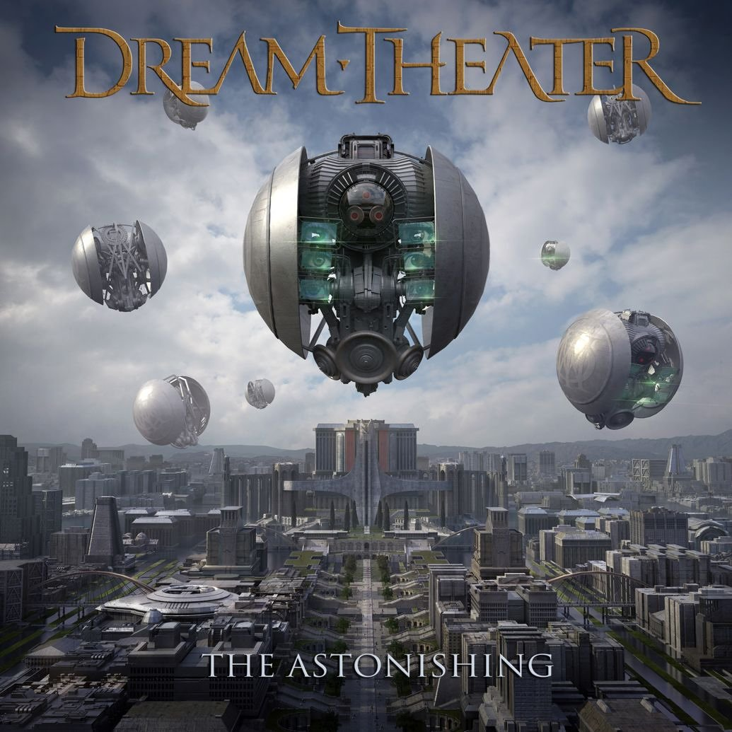 Dream Theater: The Astonishing (2016) Book Cover