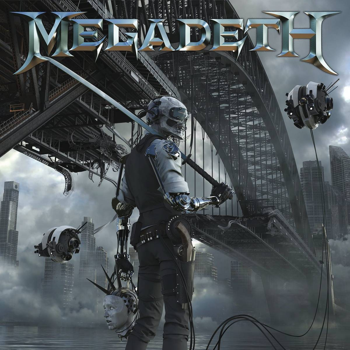Megadeth: Dystopia (2016) Book Cover
