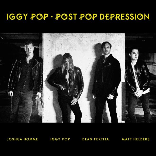 Iggy Pop: Post Pop Depression (2016) Book Cover