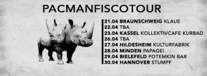 """Pacman: """"Der Blanke Hans"""" Tour (2016)"""
