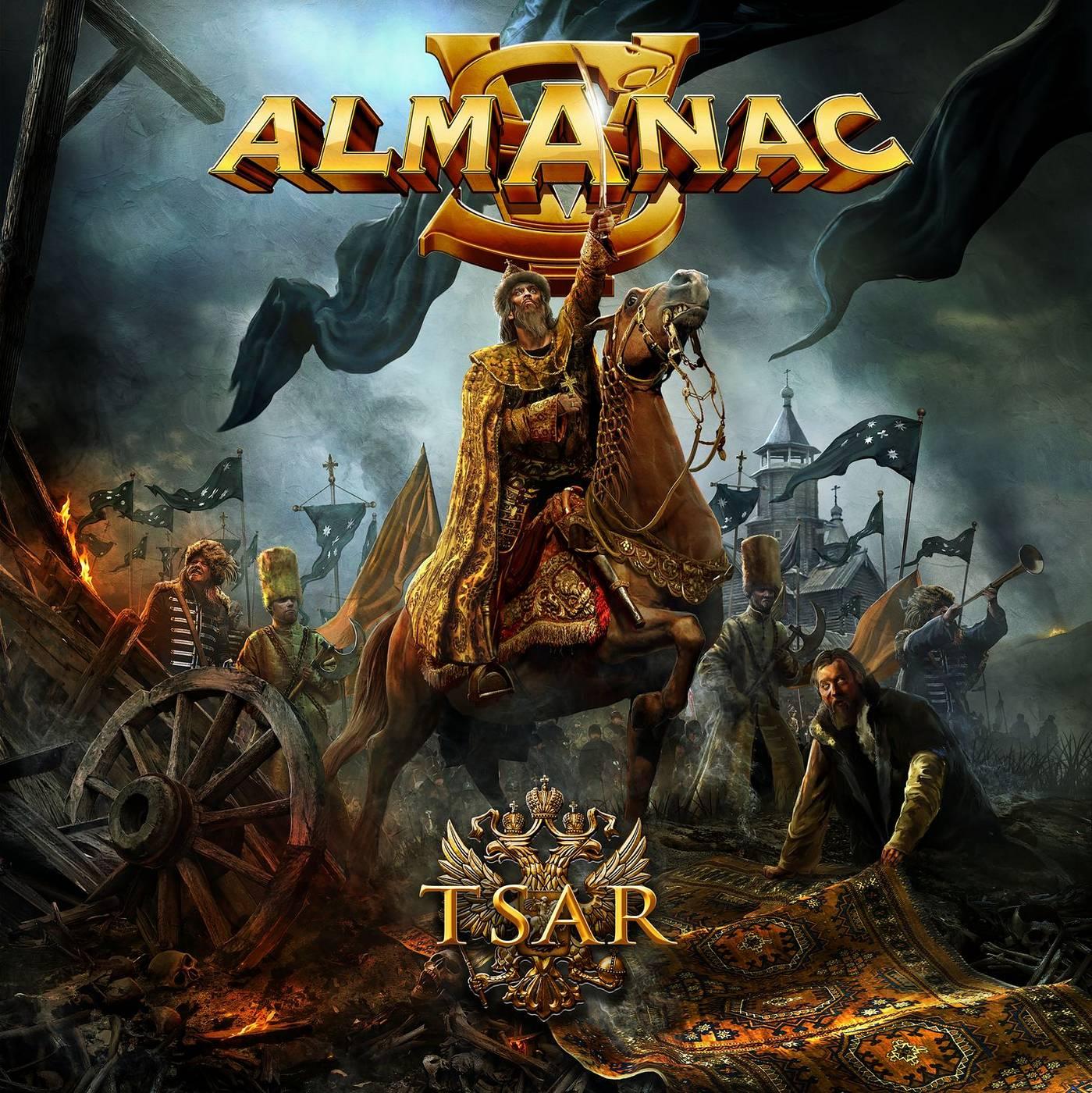 Almanac: Tsar (2016) Book Cover
