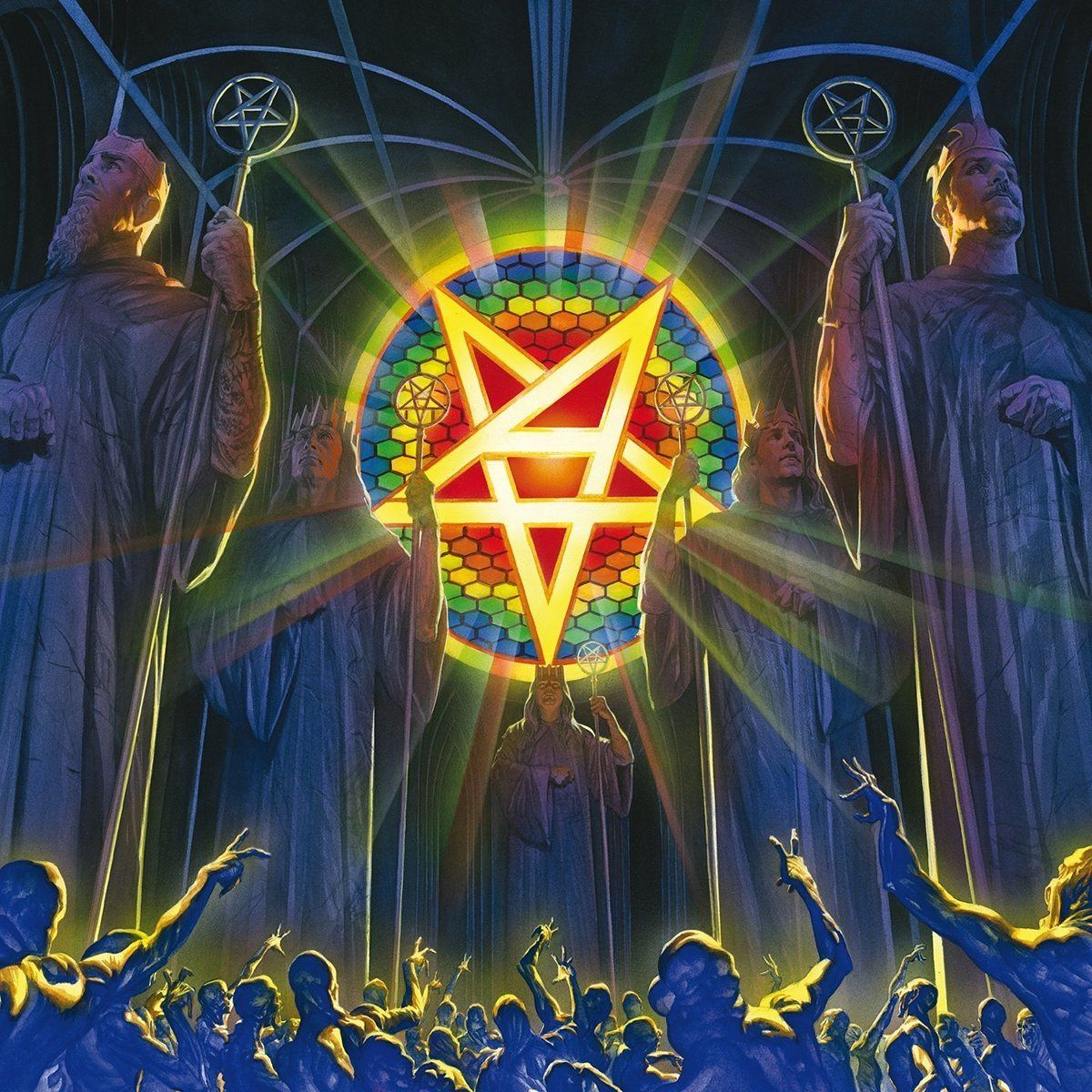 Anthrax: For All Kings (2016) Book Cover