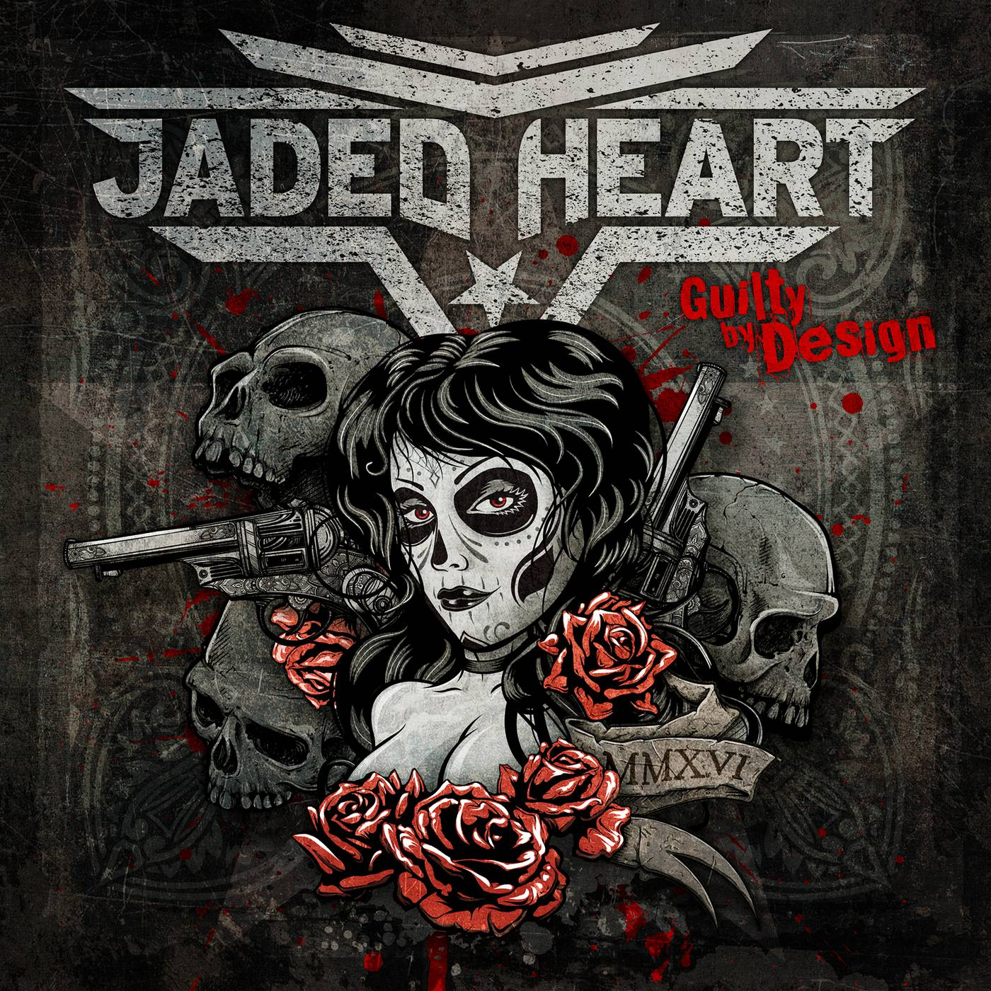 Jaded Heart: Guilty By Design (2016) Book Cover