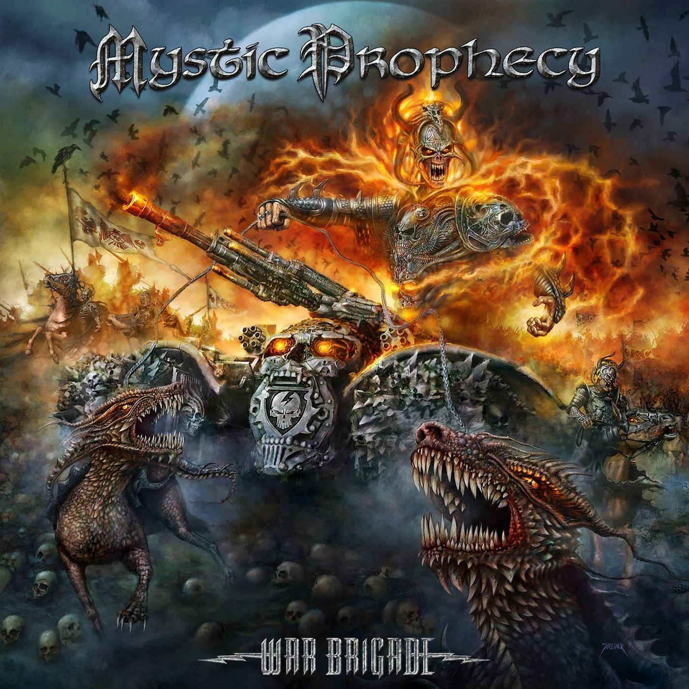 Mystic Prophecy: War Brigade (2016) Book Cover