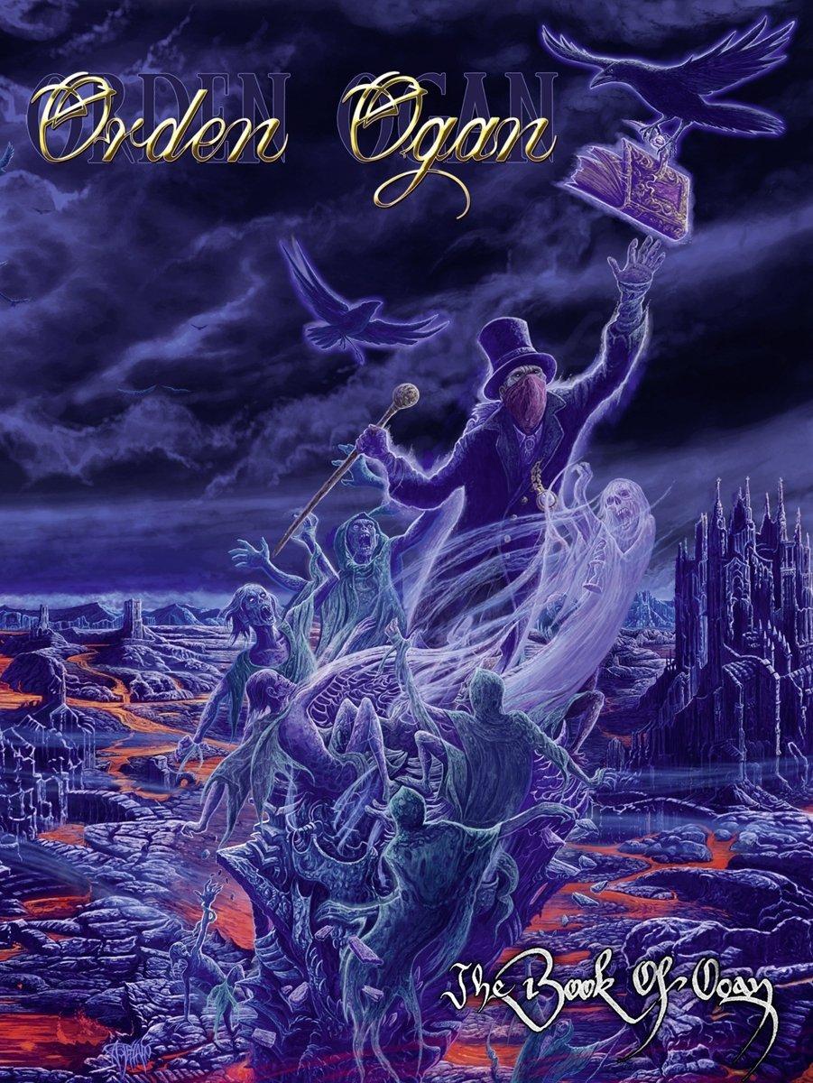 Orden Ogan: The Book Of Ogan (2016) Book Cover