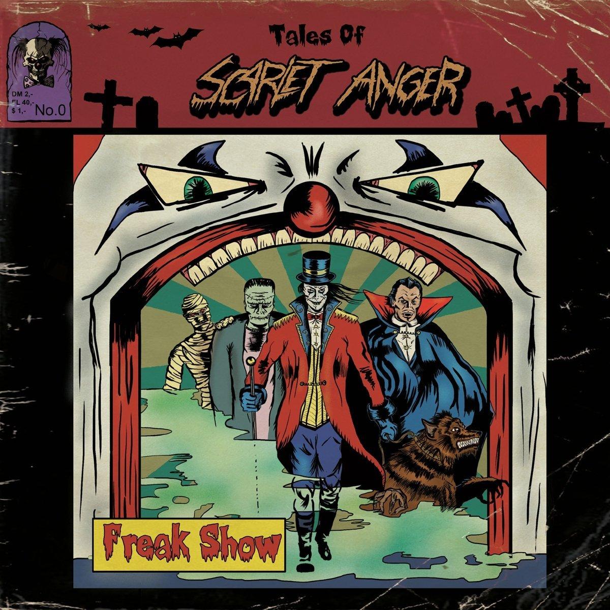 Scarlet Anger: Freak Show (2016) Book Cover