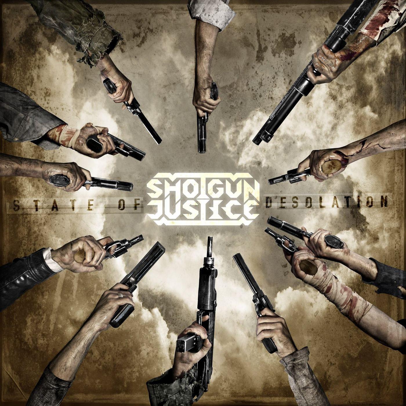 Shotgun Justice: State of Desolution (2016) Book Cover