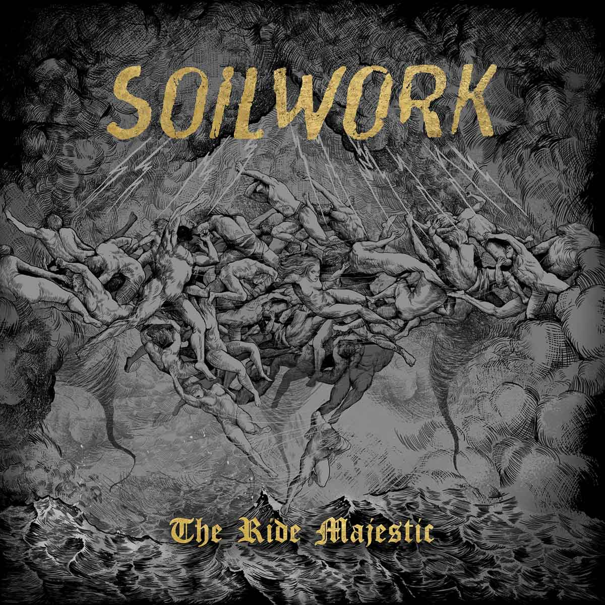 Soilwork: The Ride Majestic (2015) Book Cover