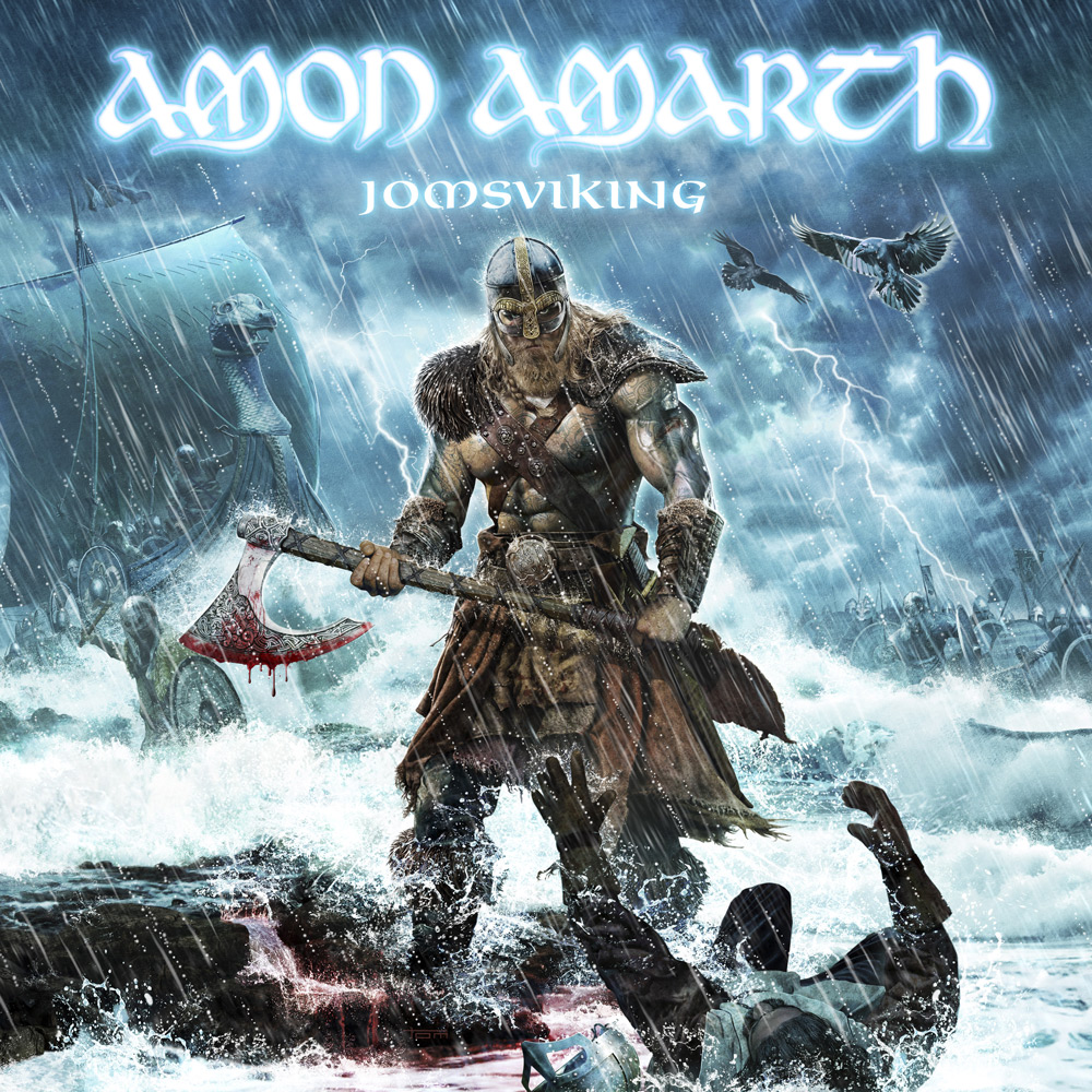 Amon Amarth: Jomsviking (2016) Book Cover