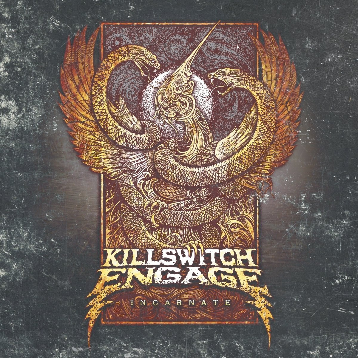 Killswitch Engage: Incarnate (2016) Book Cover