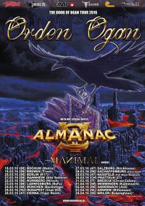 Orden Ogan Tour Flyer