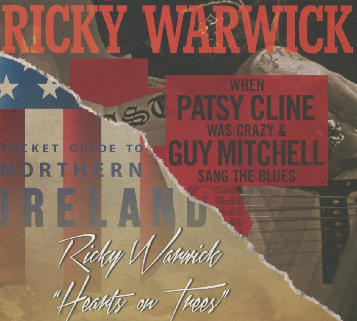 Ricky Warwick: When Patsy Cline Was Crazy (And Guy Mitchell Sang The Blues) (2016) Book Cover