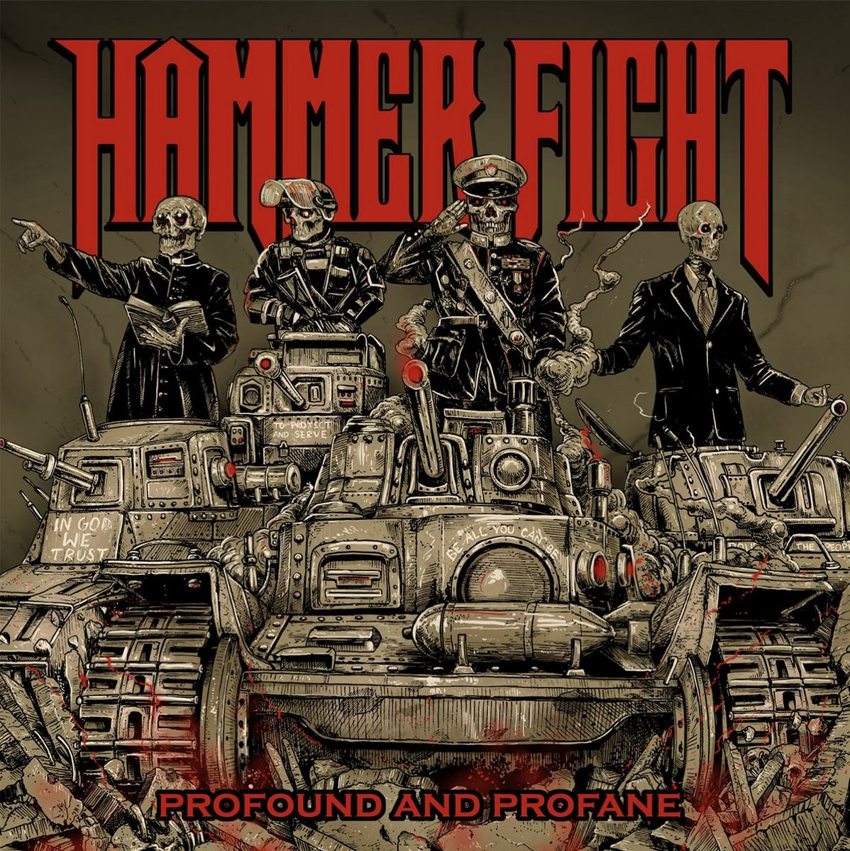 Hammer Fight: Profund and Profane (2016) Book Cover