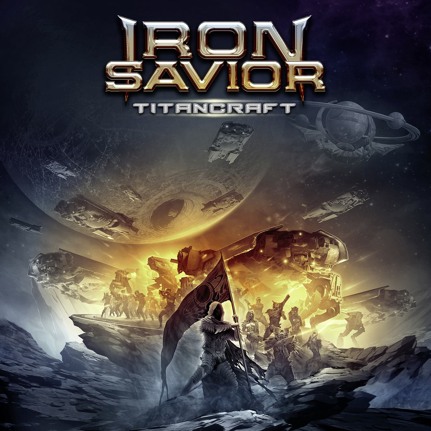 Iron Savior: Titancraft (2016) Book Cover