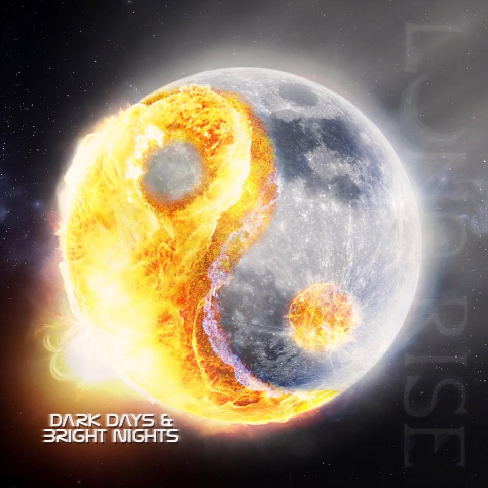 Luna Rise: Dark Days & Bright Nights (2015) Book Cover