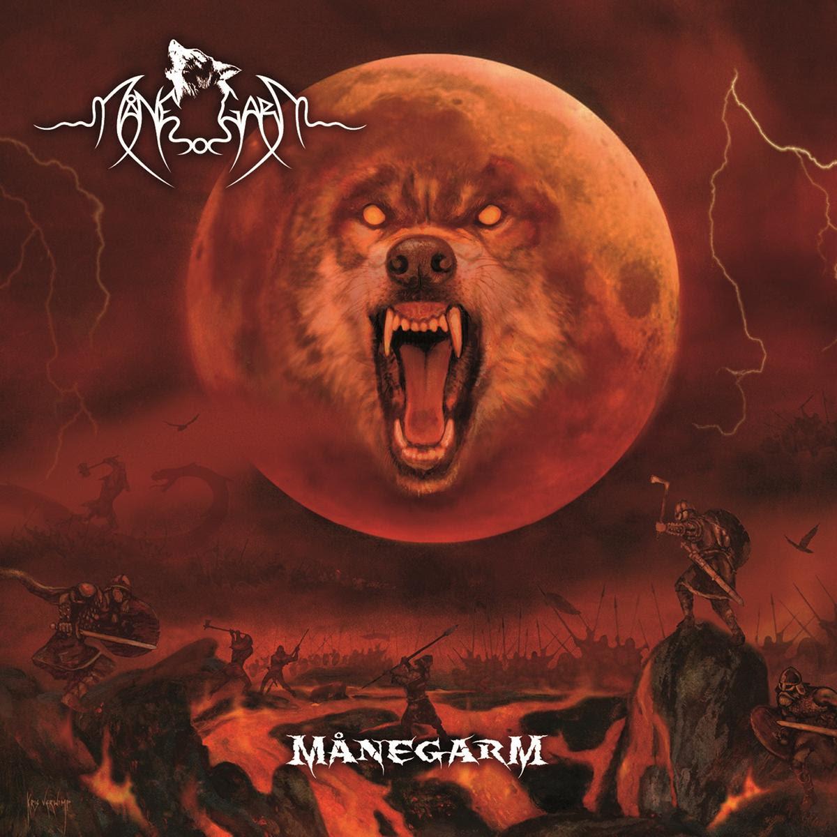 Manegarm: Manegarm (2015) Book Cover