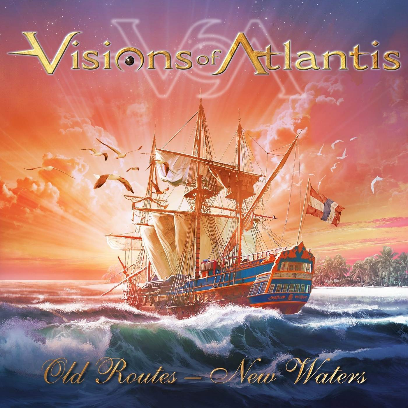 Visions of Atlantis: Old Routes - New Waters (2016) Book Cover