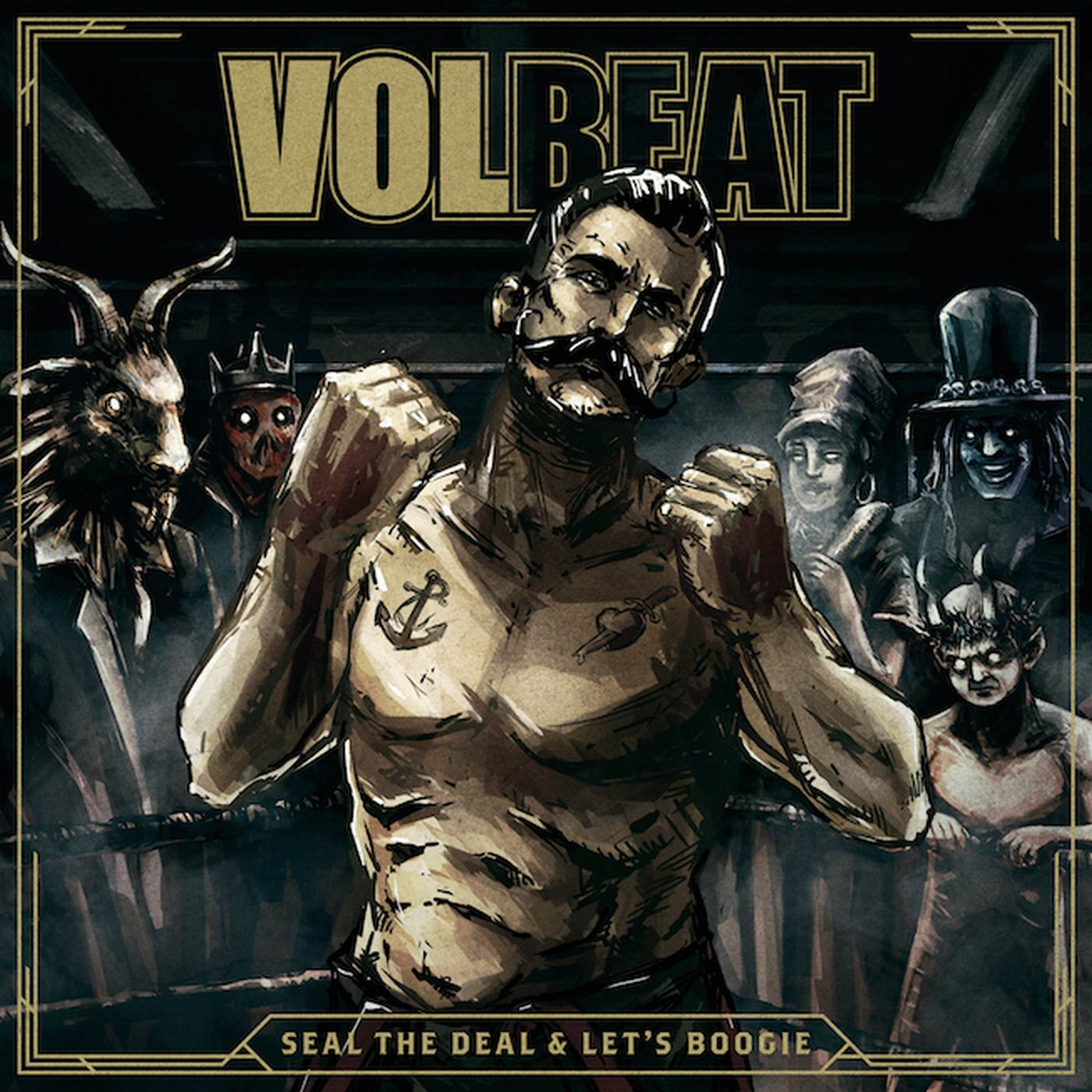Volbeat: Seal The Deal & Let´s Boogie (2016) Book Cover