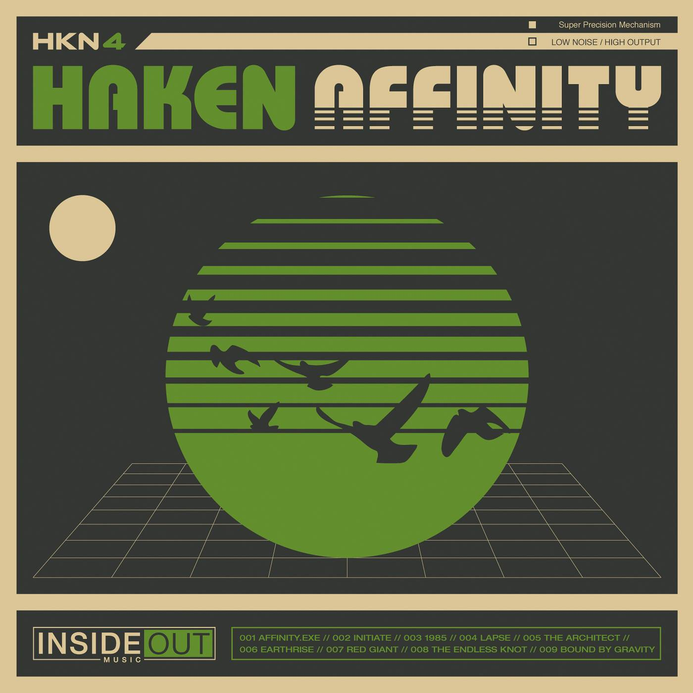 Haken: Affinity (2016) Book Cover