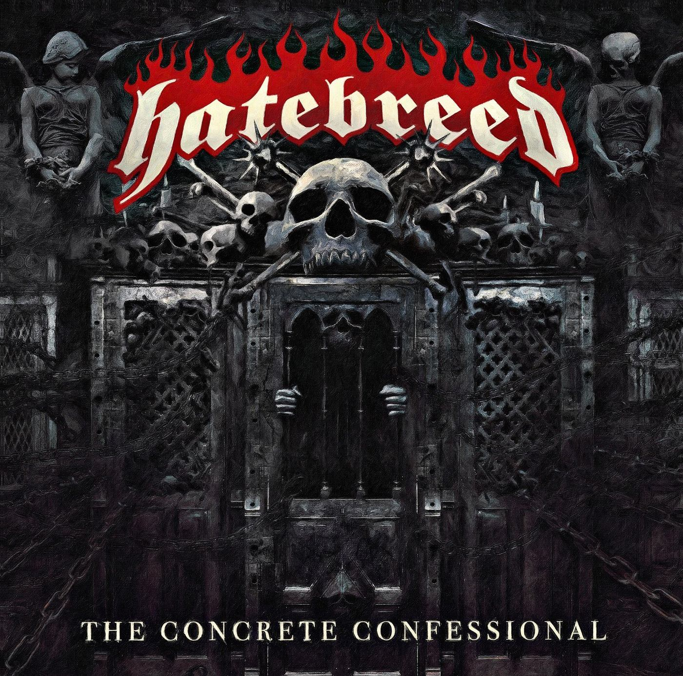 Hatebreed: The Concrete Confessional (2016) Book Cover