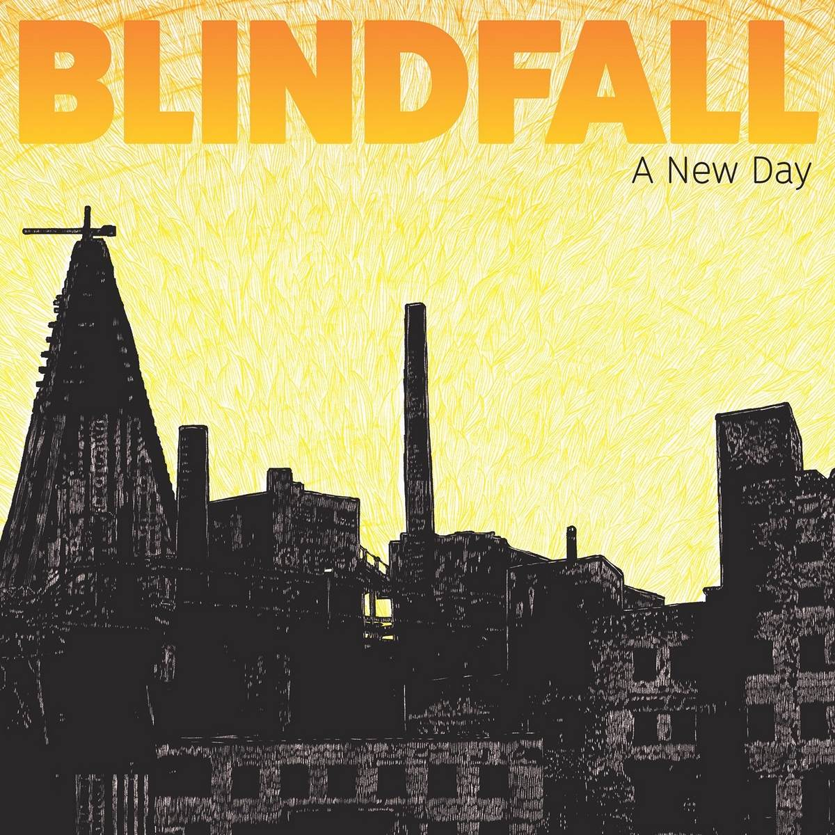 Blindfall: A New Day (2016) Book Cover