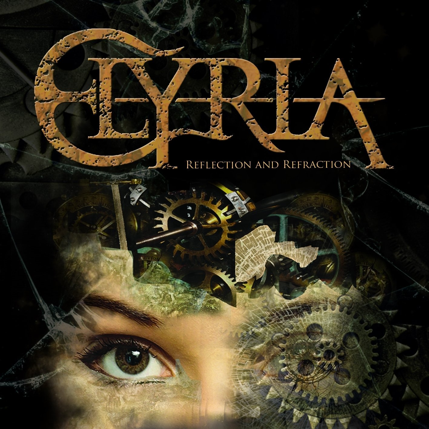 Elyria: Reflection and Refraction (2016) Book Cover
