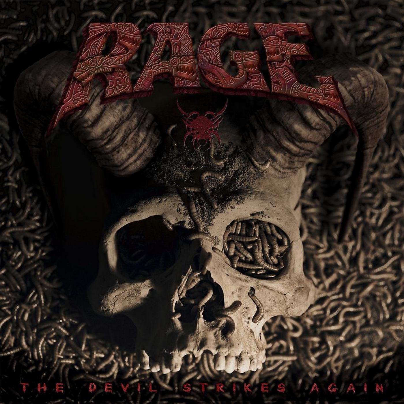 Rage: The Devil Strikes Again (2016) Book Cover