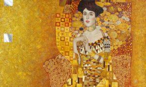 "Gustav Klimt: Das Bildnis Adele Bloch-Bauer (1907) ""Goldene Adele"""