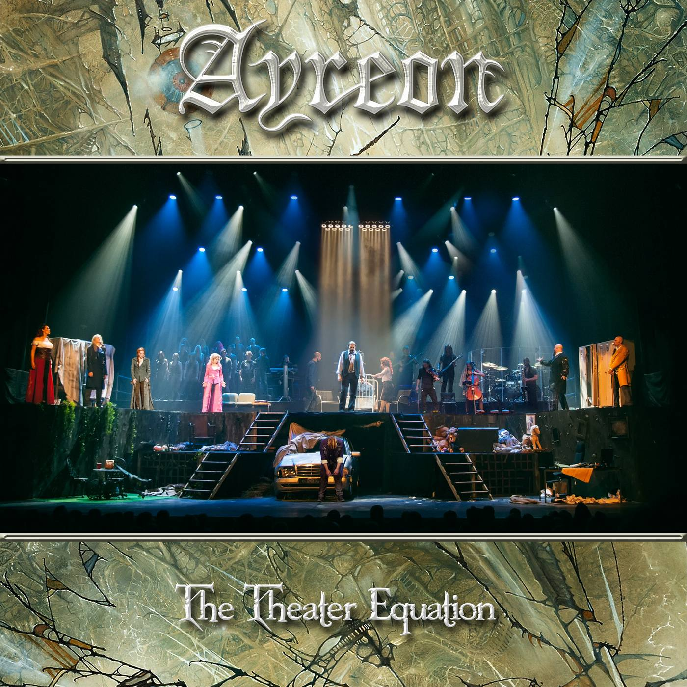 Ayreon: The Theater Equation (2016) Book Cover