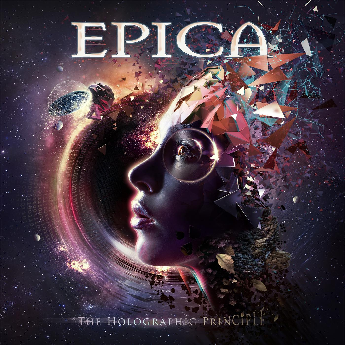 Epica: The holographic Principle (2016) Book Cover