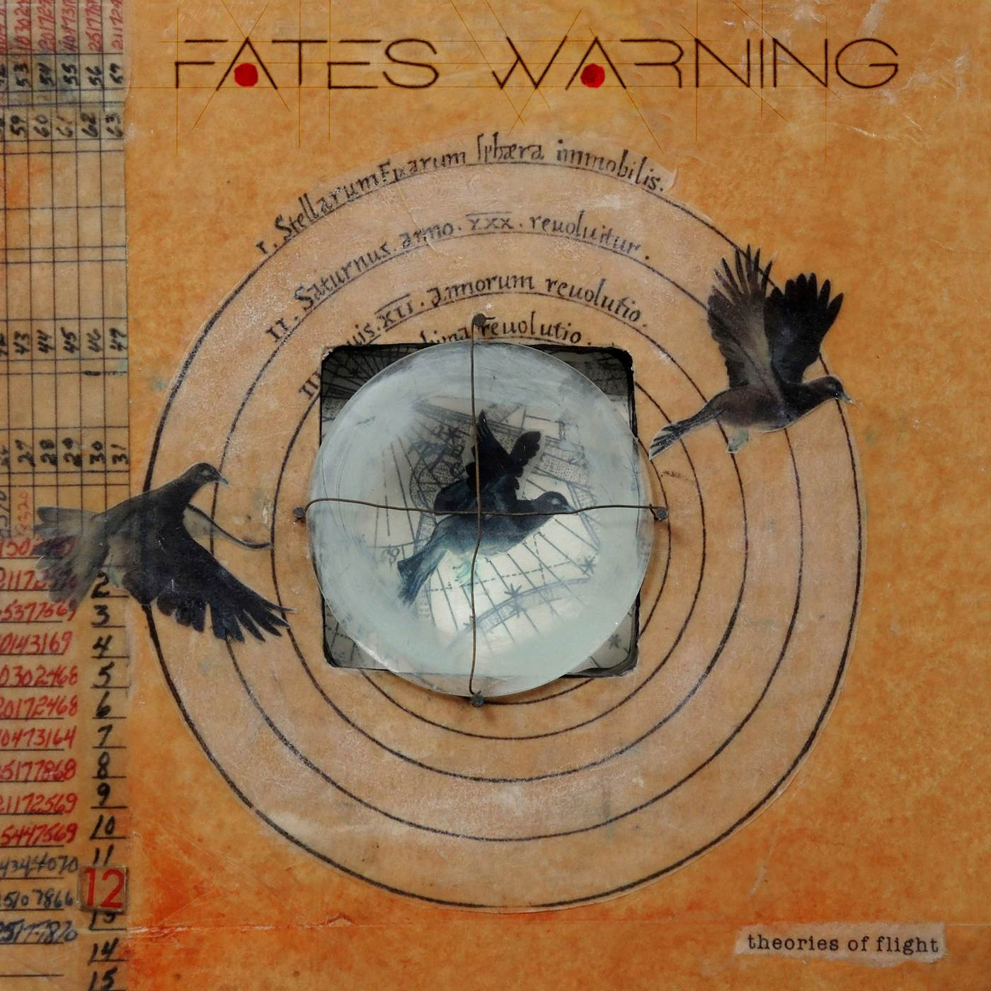 Fates Warning: Theories Of Flight (2016) Book Cover