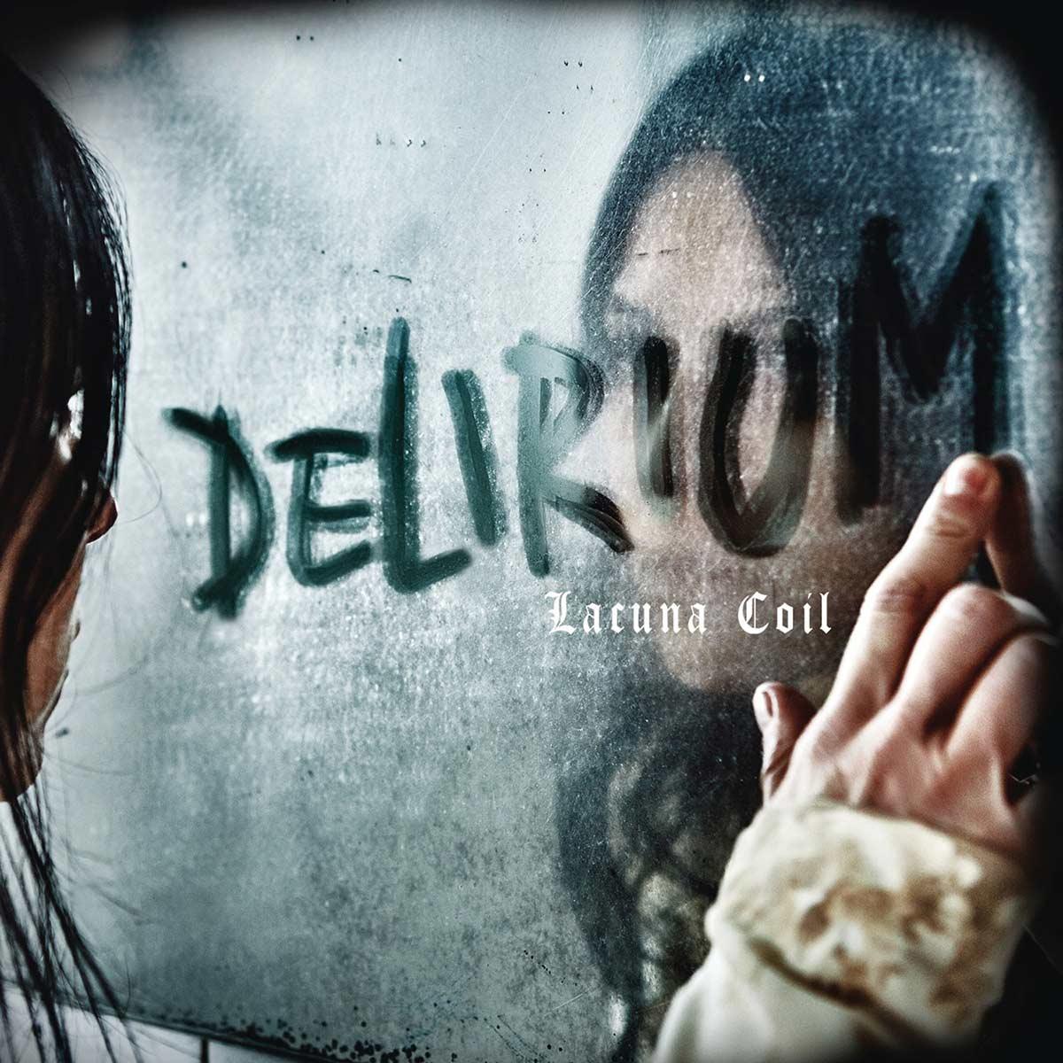Lacuna Coil: Delirium (2016) Book Cover