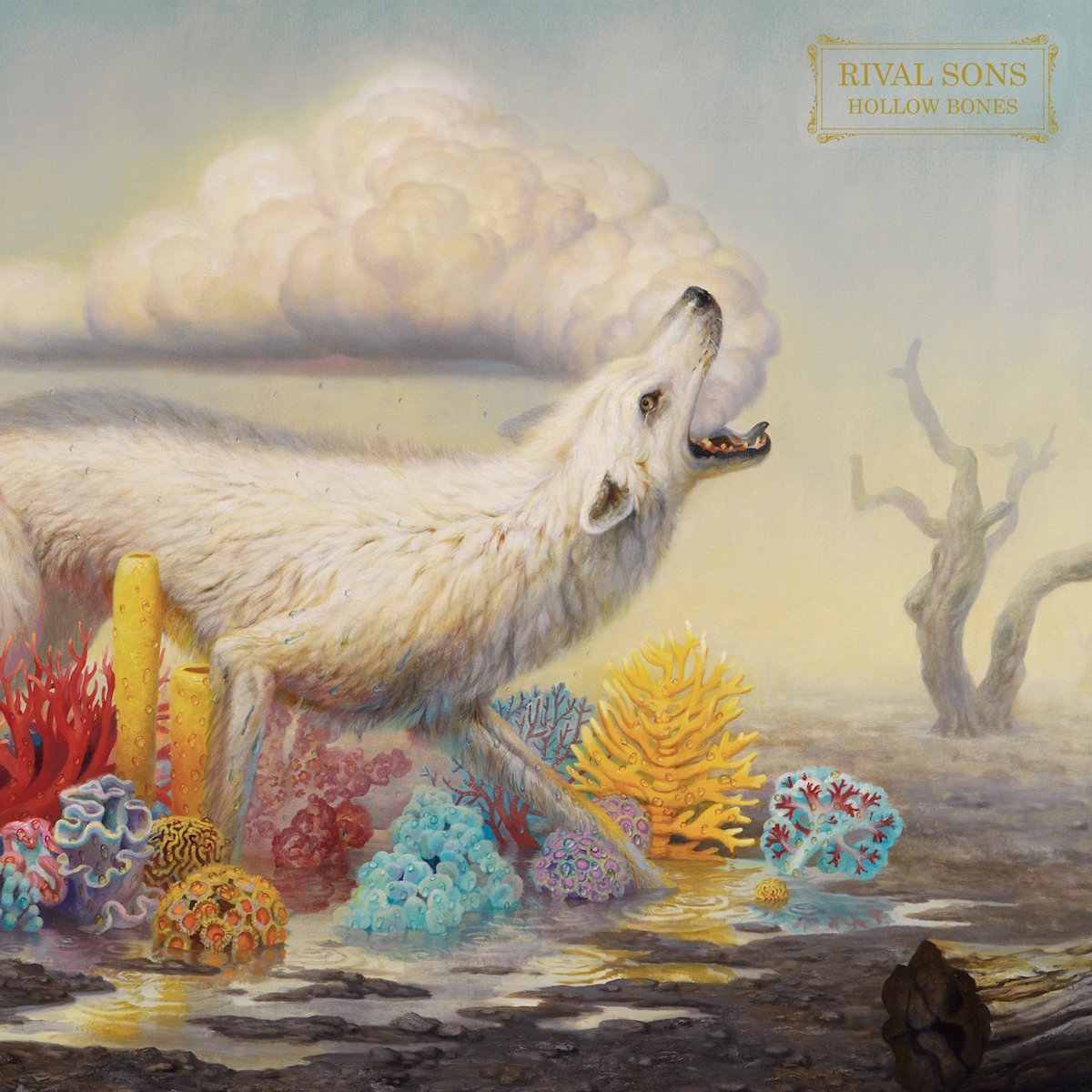 Rival Sons: Hollow Bones (2016) Book Cover