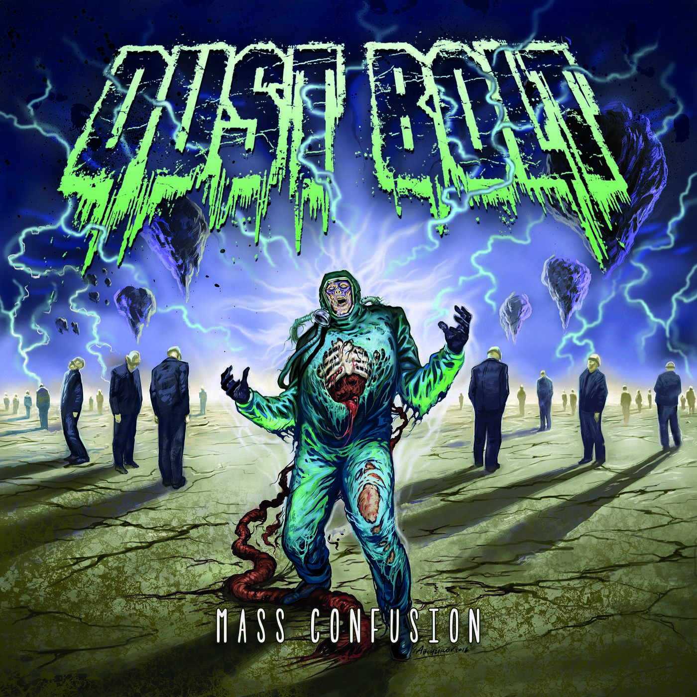 Dust Bolt: Mass Confusion (2016) Book Cover