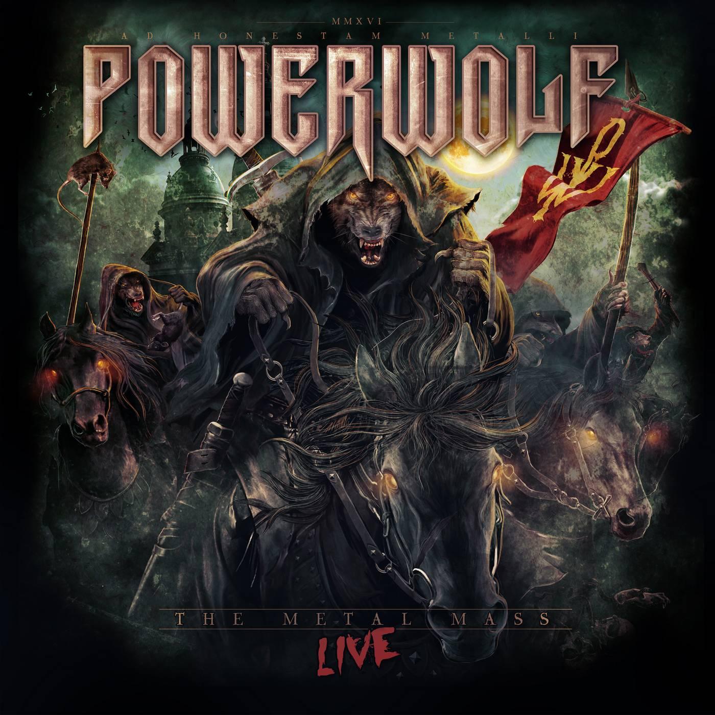 Powerwolf: The Metal Mass (2016) Book Cover