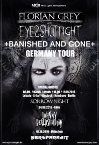 Eyes Shut Tight (Tourposter: hfr.)