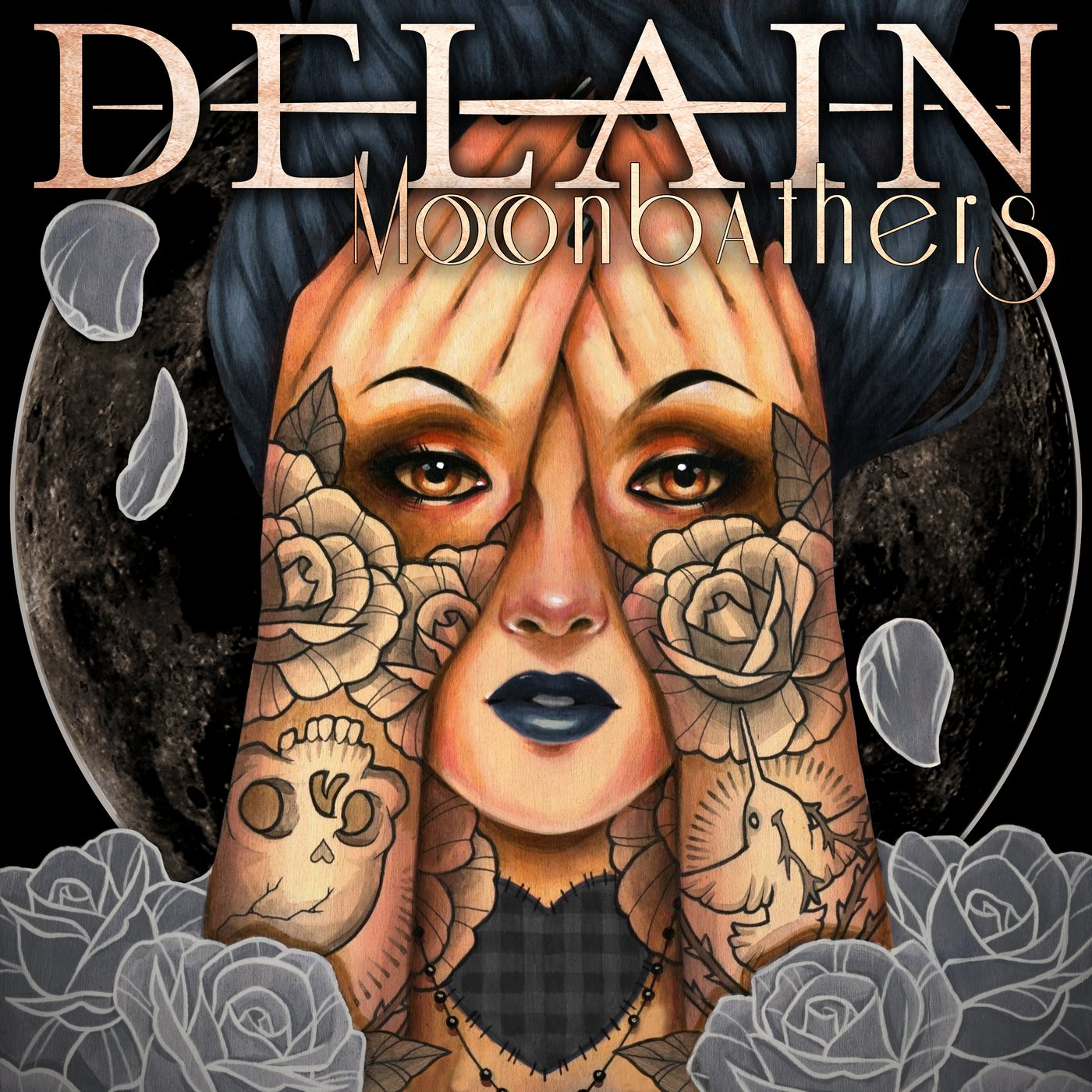 Delain: Moonbathers (2016) Book Cover