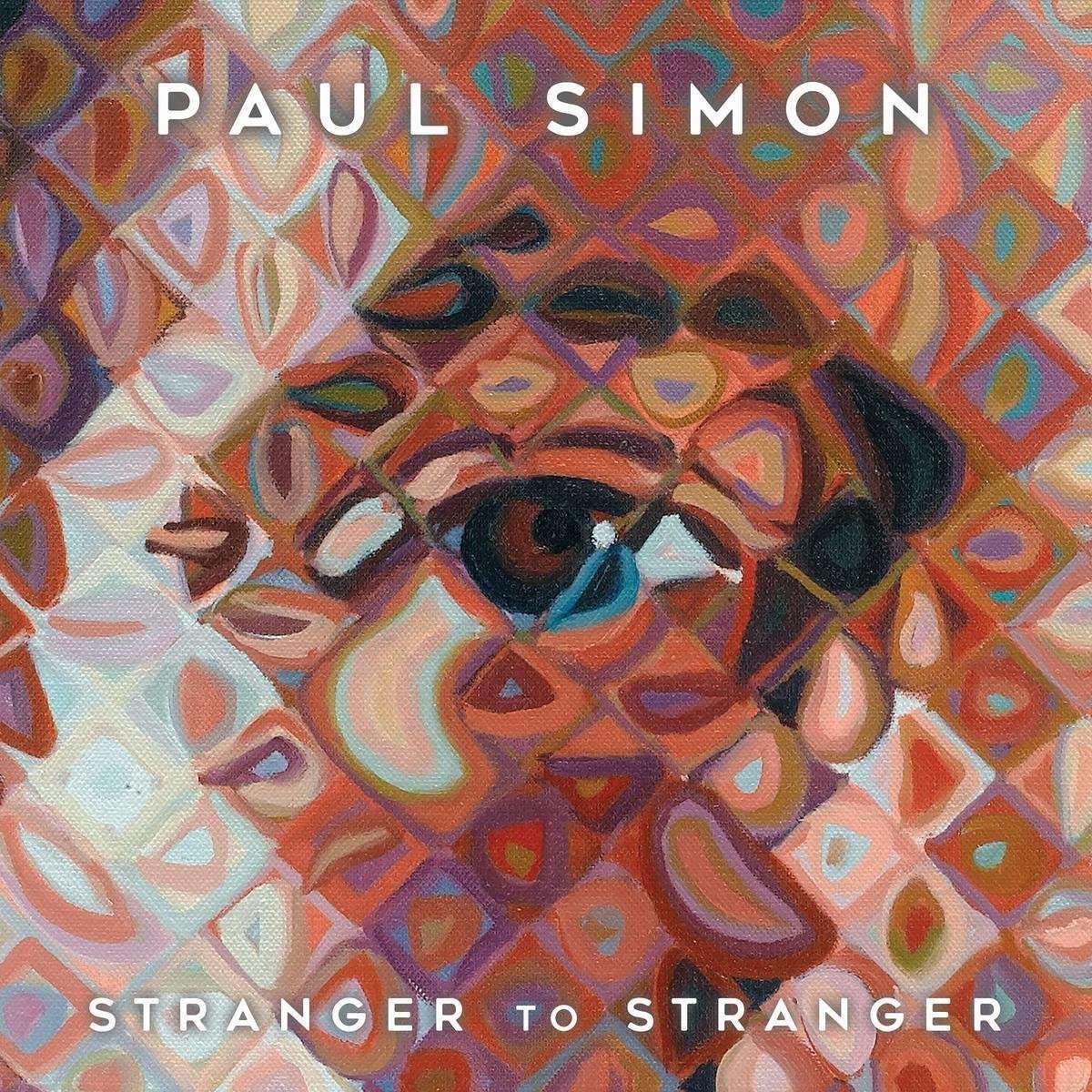Paul Simon: Stranger to Stranger (2016) Book Cover