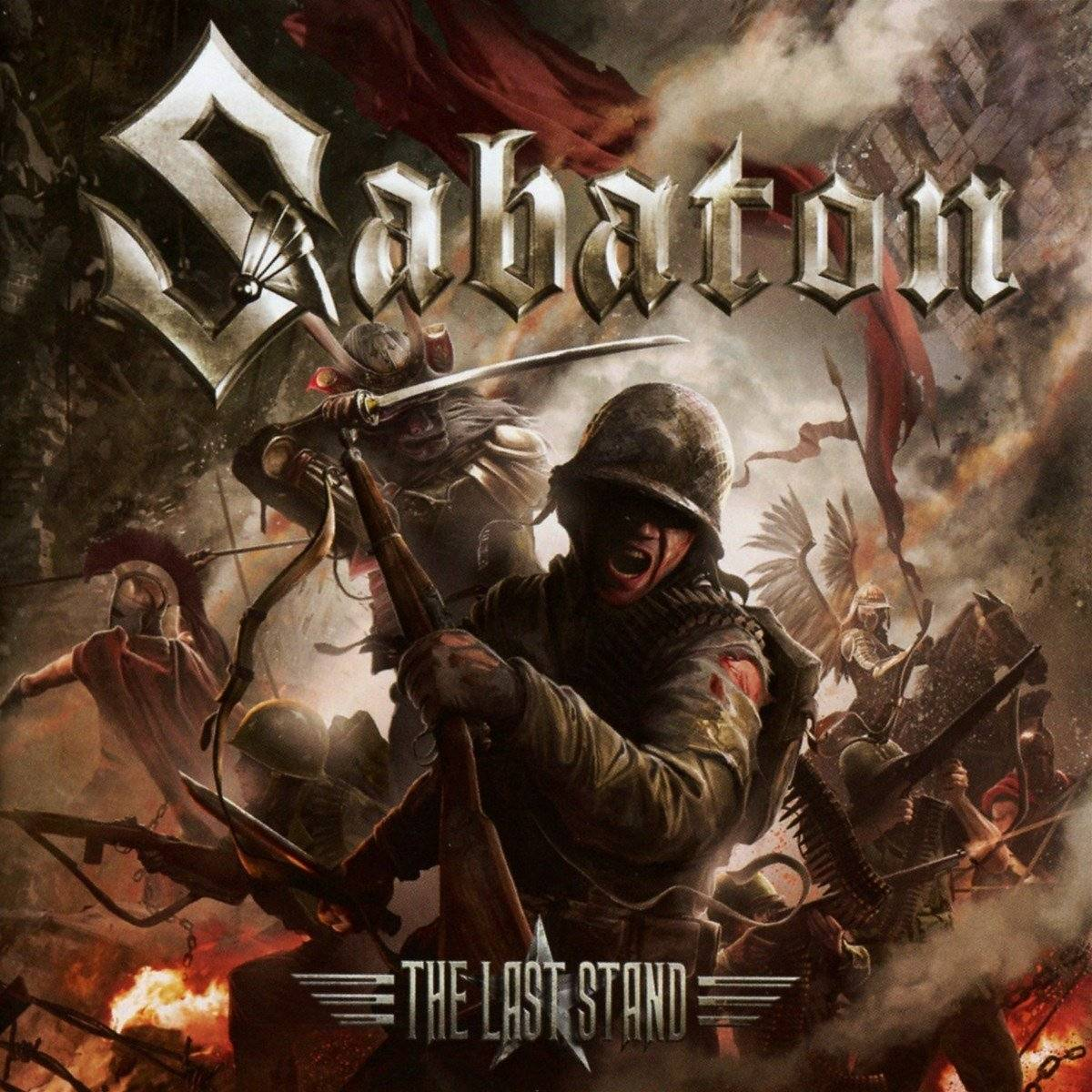 Sabaton: The Last Stand (2016) Book Cover