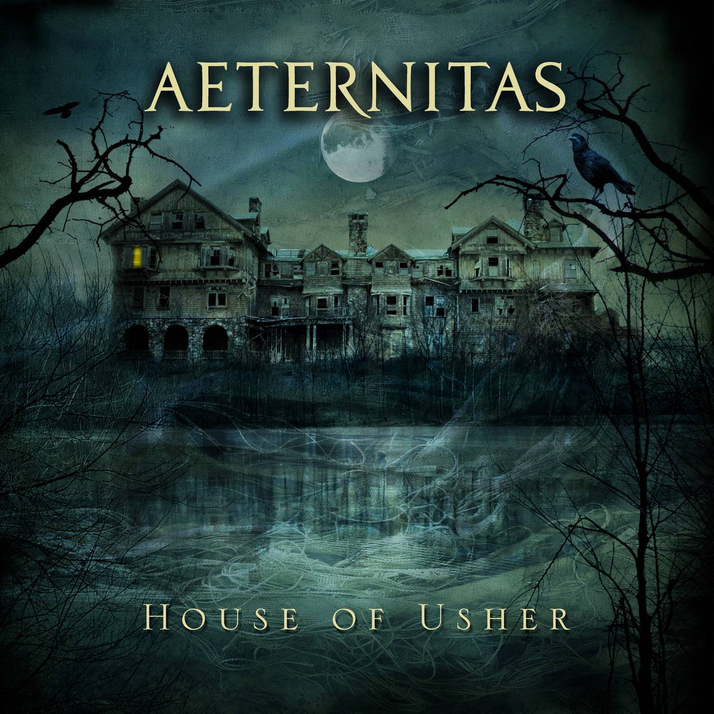 Aeternitas: House Of Usher (2016) Book Cover