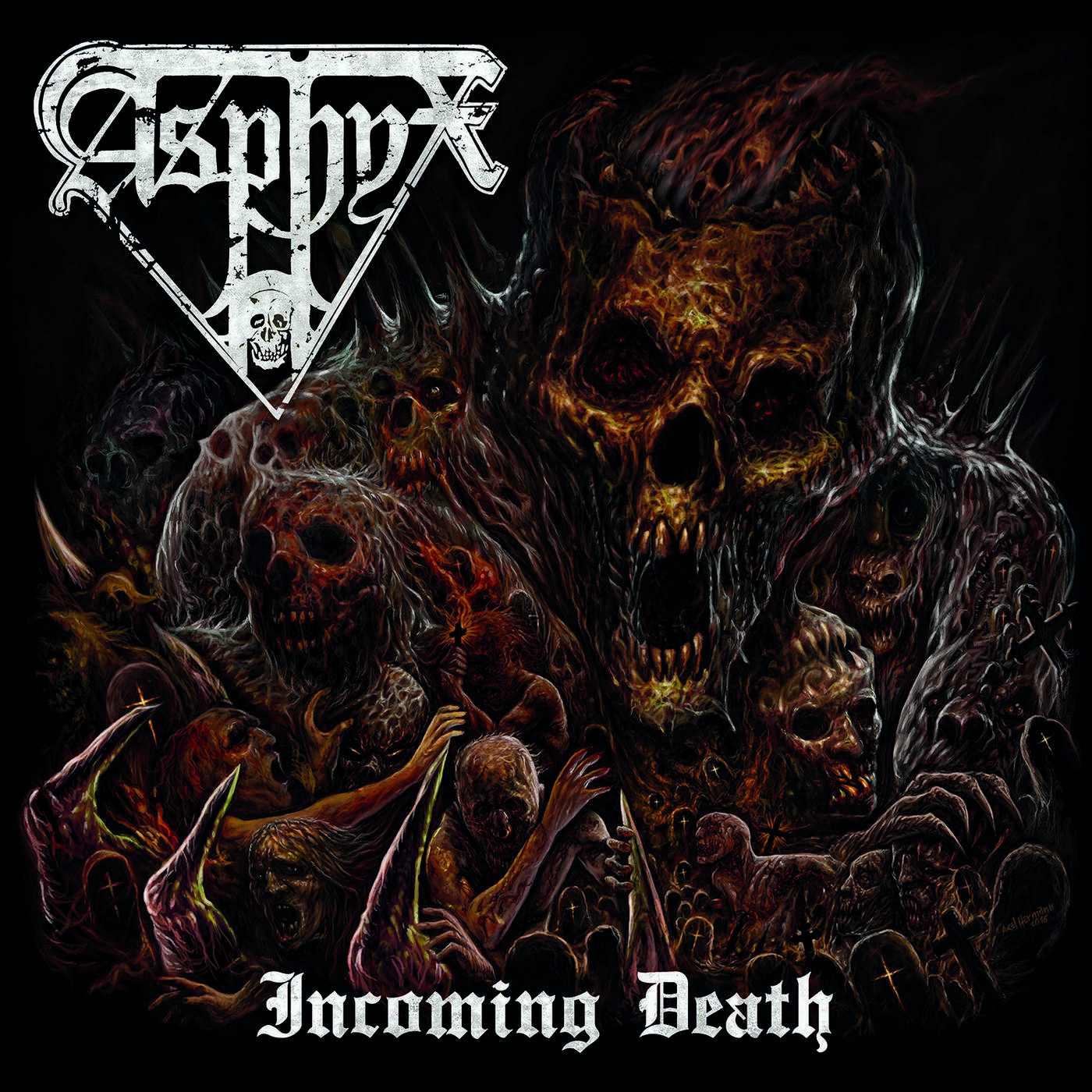 Asphyx: Incoming Death (2016) Book Cover