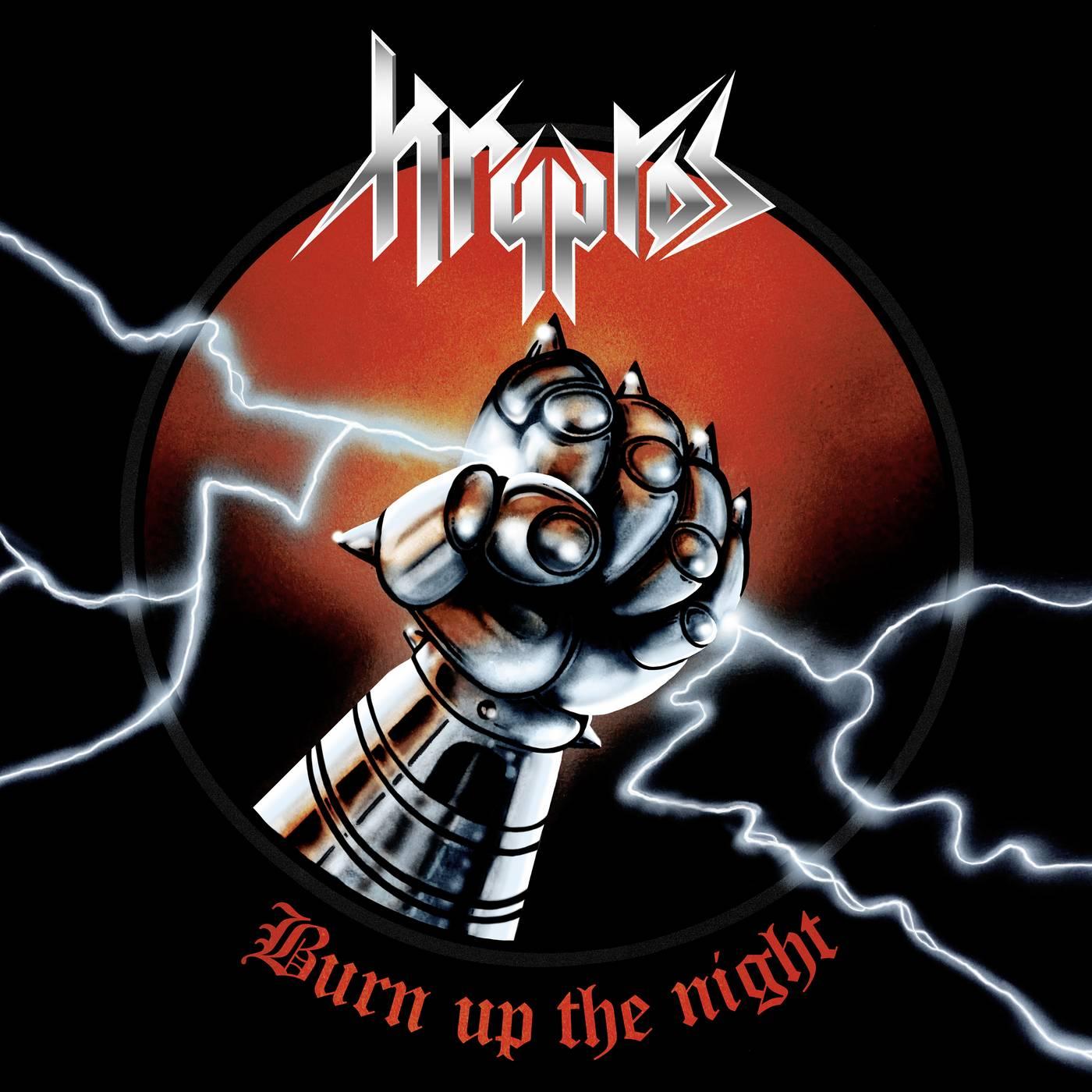 Kryptos: Burn Up The Night (2016) Book Cover