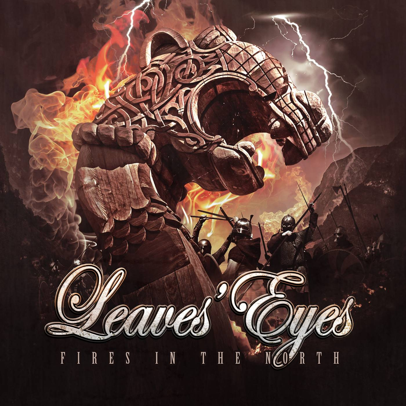 Leaves Eyes: Fires in the North (2016) Book Cover