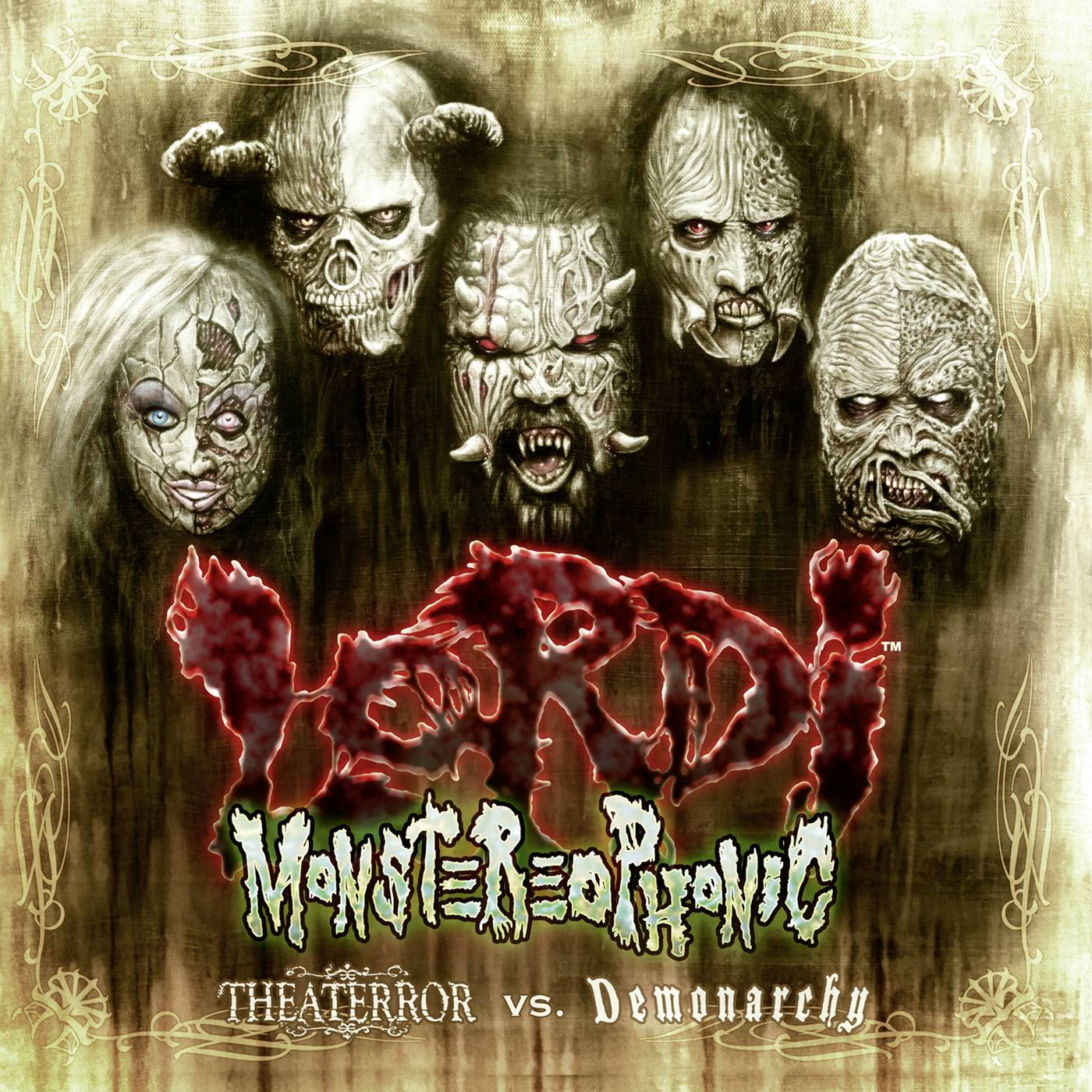 Lordi: Monstereophonic (2016) Book Cover