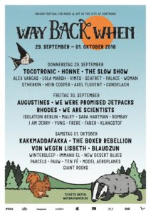 Way Back When Festival (Poster 2016)
