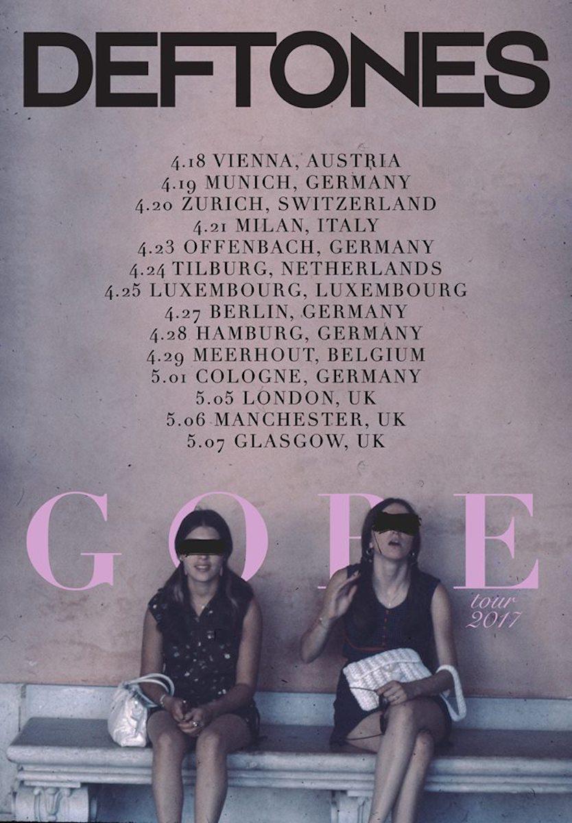 Deftones Tour 2017